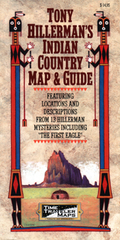Tony Hillerman's Indian Country Map cover