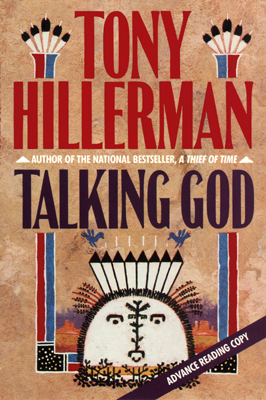 Talking God advance reading copy cover
